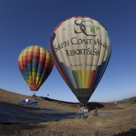 Hot Air Balloon & Dinner Package