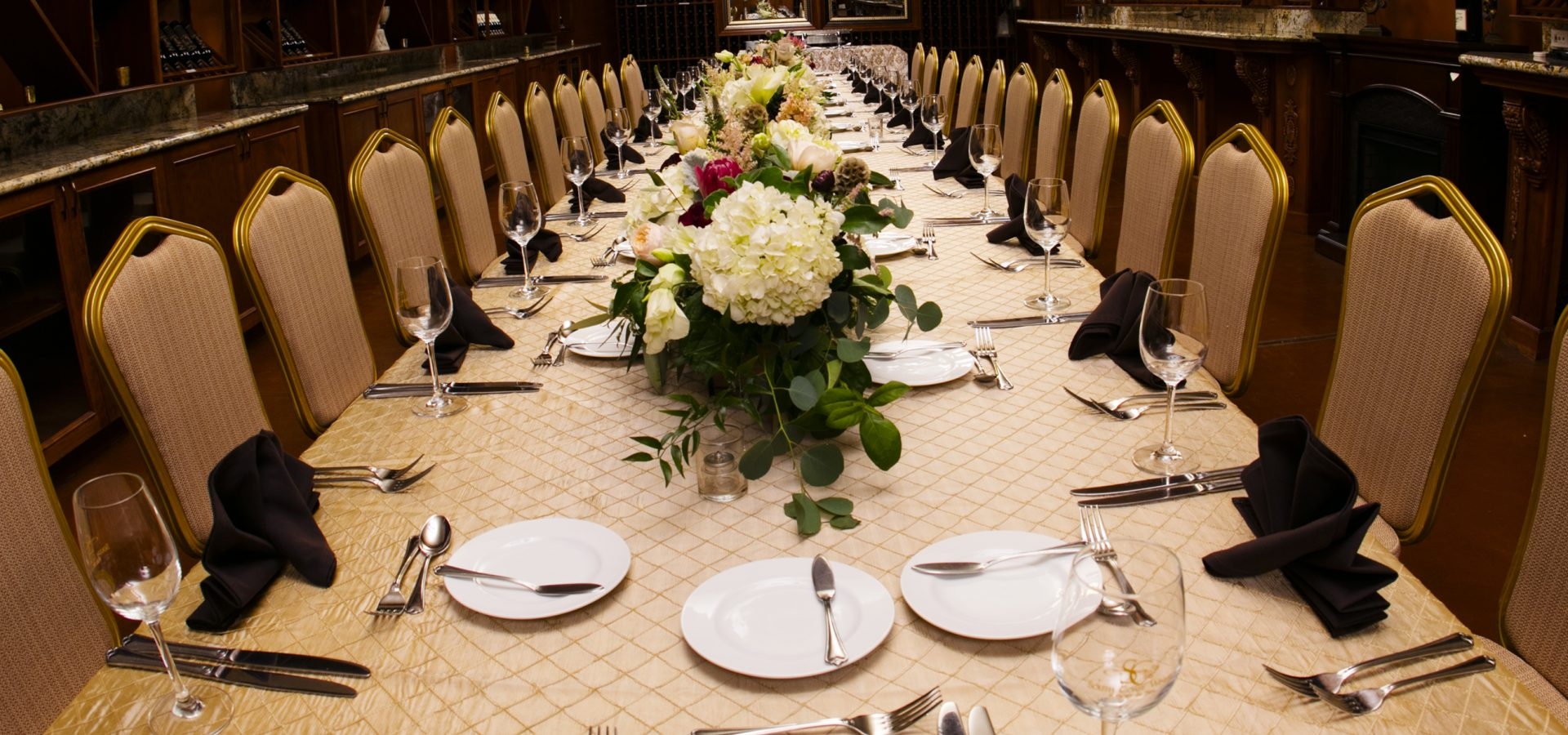 wedding banquet available at South Coast Winery Resort in Temecula CA