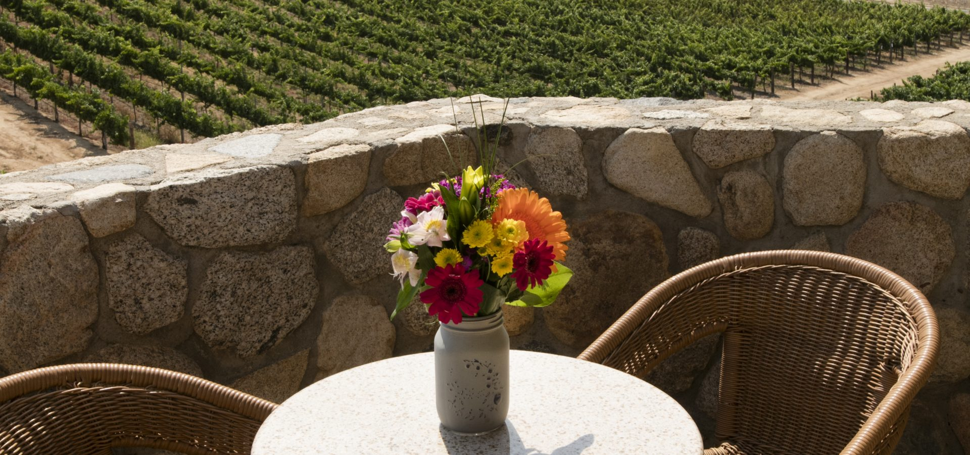 outdoor balcony accommodations at Temecula spa resort
