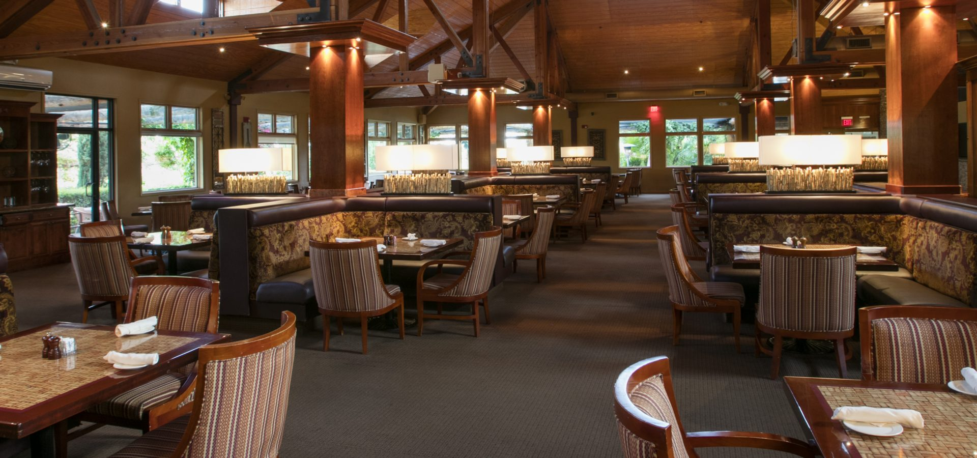 The Vineyard Rose Restaurant at South Coast Winery Resort