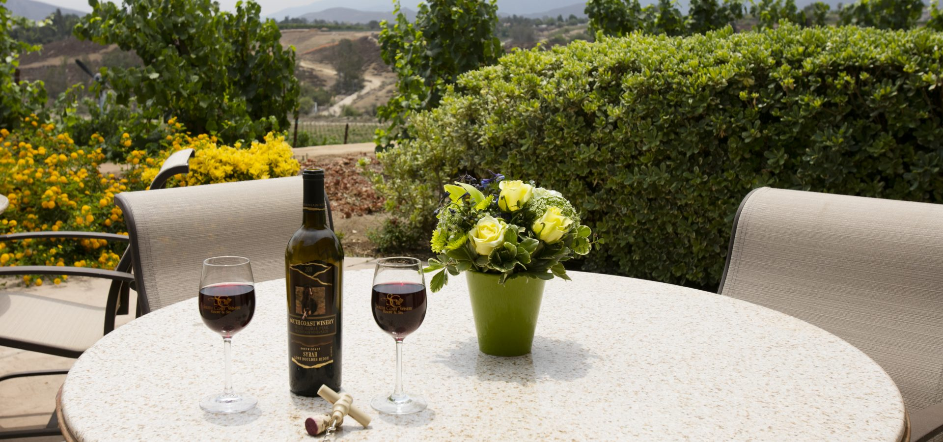 wine tour in wine country, southern California hotel